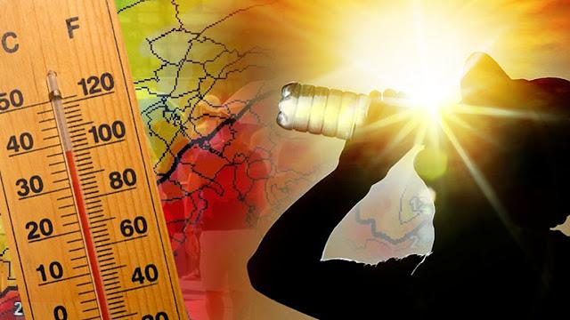 Καμίνι που βράζει η Αργολίδα - Πάνω από 40 βαθμούς η θερμοκρασία από νωρίς το πρωί