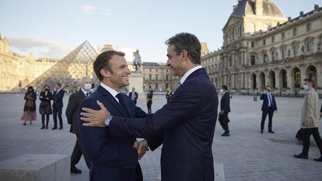 Στις 10 οι ανακοινώσεις Μητσοτάκη-Μακρόν για τις φρεγάτες-Δείτε το ΒΙΝΤΕΟ για την Αμυντική Συμφωνία Ελλάδας-Γαλλίας