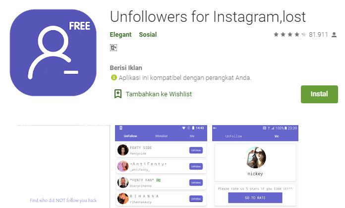 5 Aplikasi Unfollow Instagram Terbaik 2021 Mudah Cepat Dan Aman Mediasiana Com Media Pembelajaran Masakini