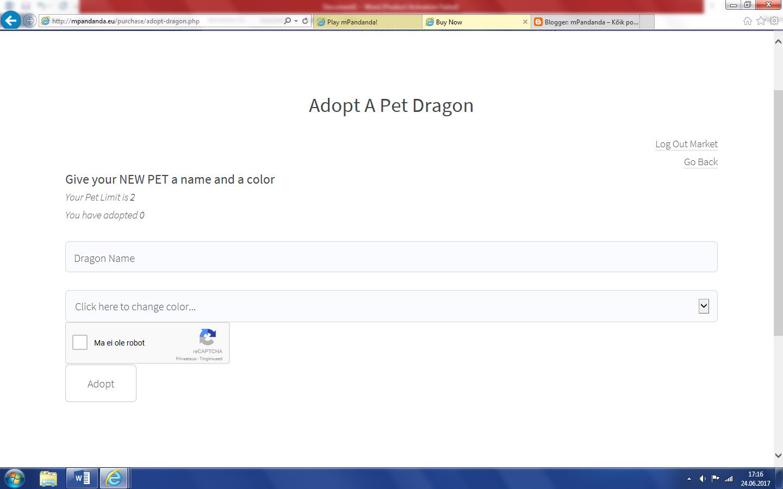 mpandanda free pet dragons