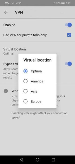 Cara Aman Berselancar Menggunakan VPN Opera Gratis! - Opera Free VPN 1