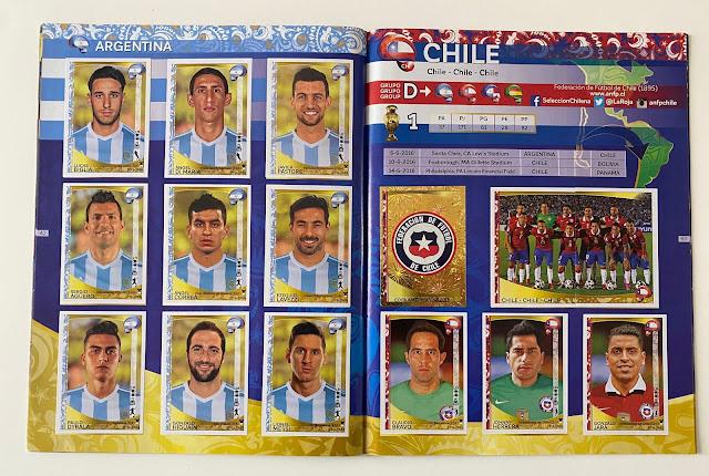 Figurine Cile Copa America 2016