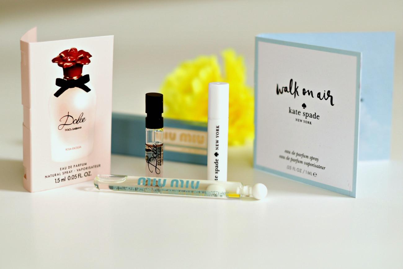 Dolce&GabbanaPerfume,MiuMiu and Kate Spade review on Ninasstyleblog