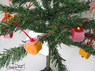 Новогодние игрушки из фетра. Идеи и мастер-классы