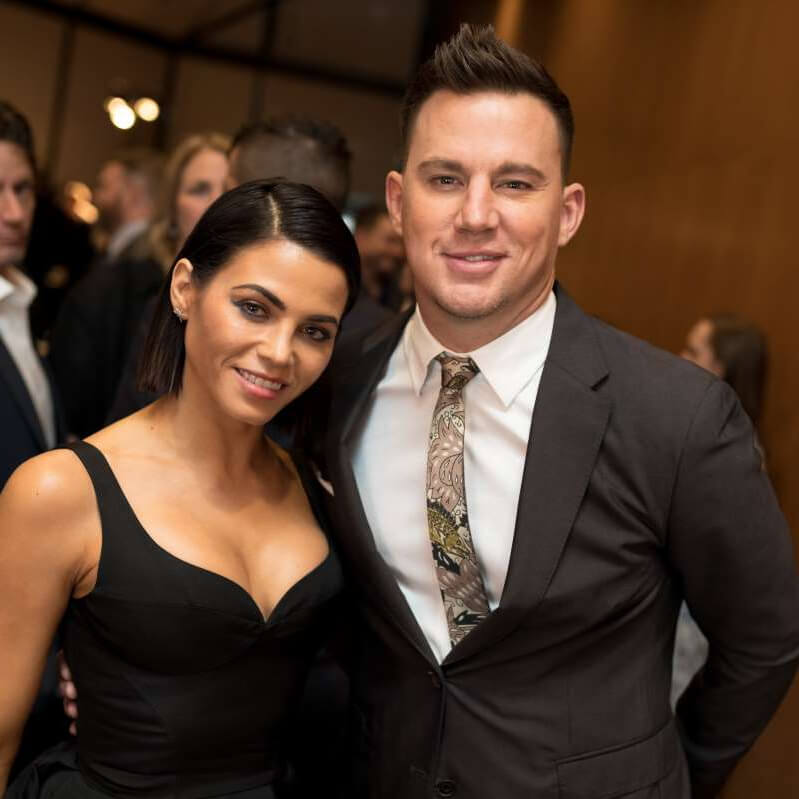 Channing,Tatum,Jessie,1 Year of Dating