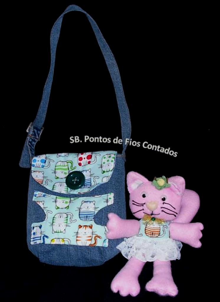 Bolsa com Gatinha