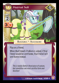 My Little Pony Hazmat Suit Absolute Discord CCG Card