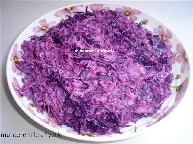 mor lahana ile neler yapılır?
