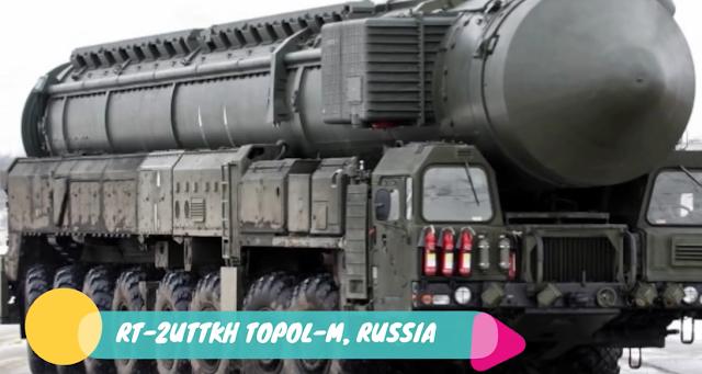 RT-2UTTKH Topol-M, Rusia