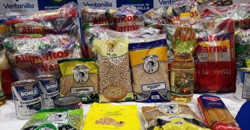 QALI WARMA: Programa social entrega cerca de 45 toneladas de alimentos en Ventanilla