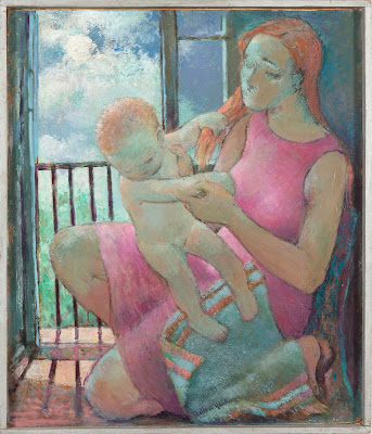 Mother and Child, Sheila Hawkins