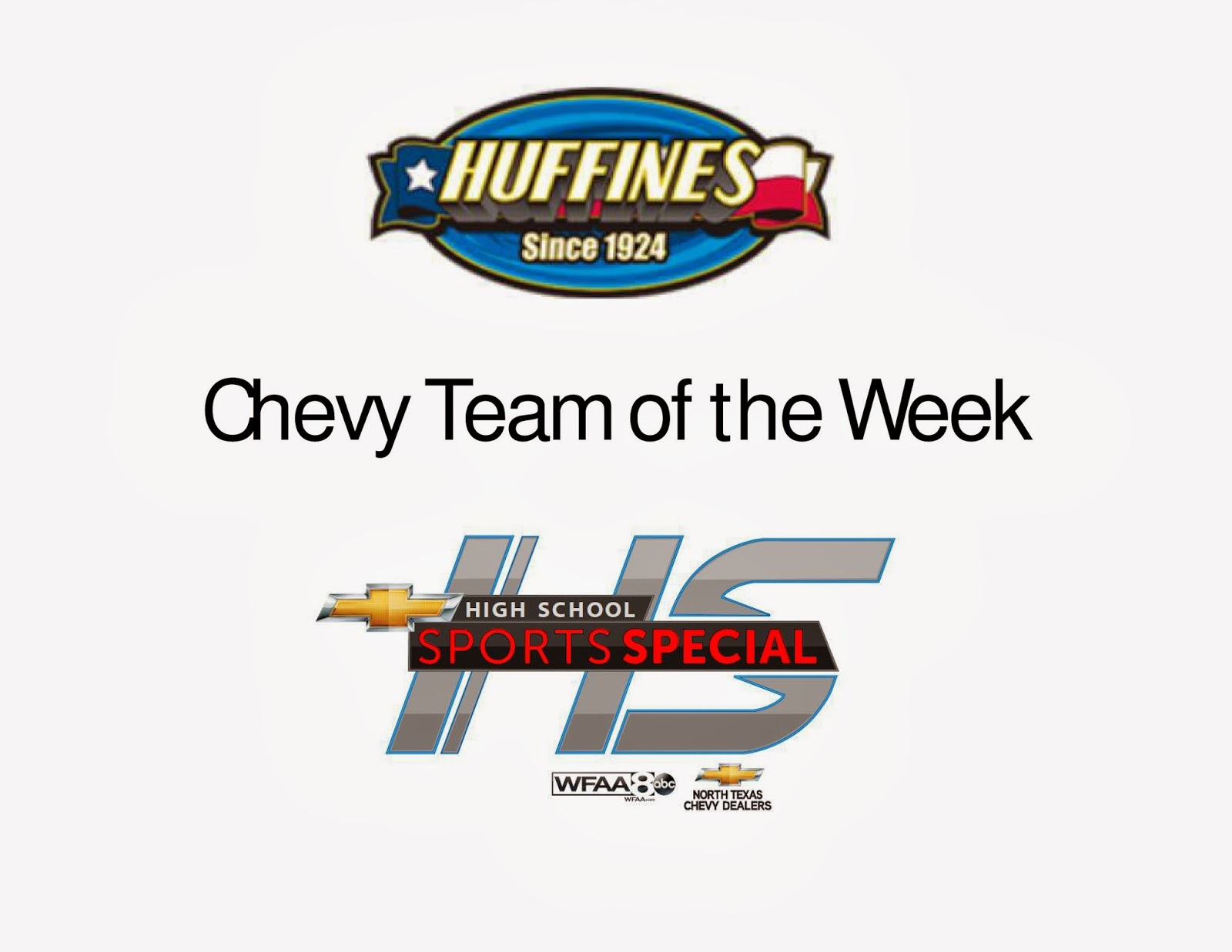 Huffines Chevrolet Plano Huffines Chevy Plano Team Of The Week