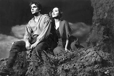 Heathcliff y catalina de cumbres borrascosas