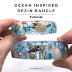 Ocean Inspired Resin Bangle Tutorial