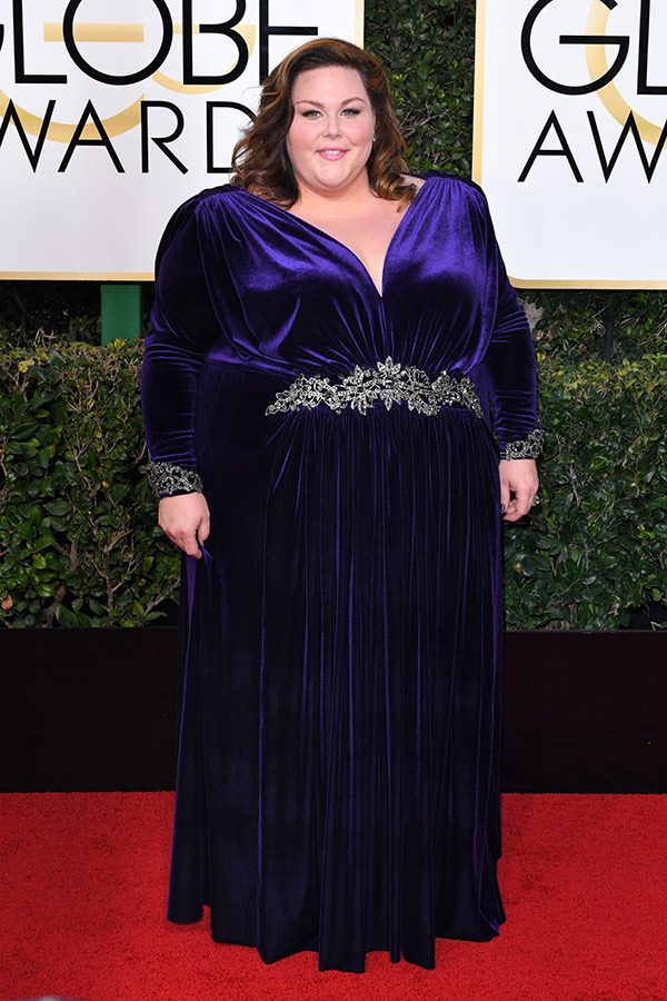 chrissy metz golden globes 2017