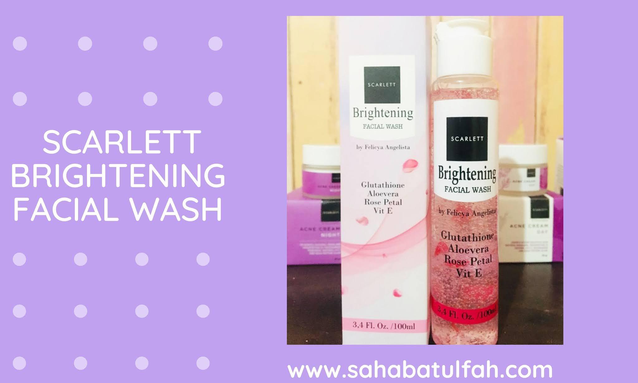 Scarlett-Brightening-facial-wash