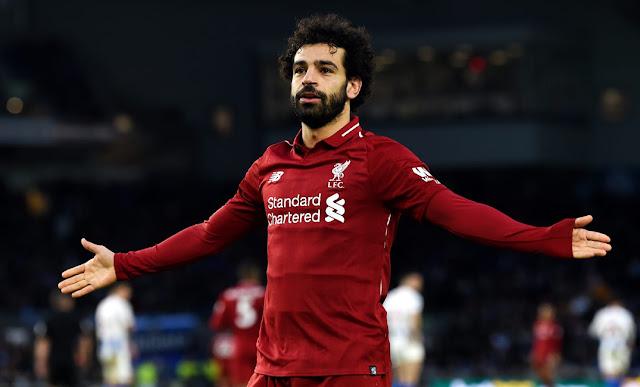 عودة محمد صلاح يسجل و يصنع هدفا رائع -  ليفربول تبقى ثلاثة نقاط للتتويج بالدورى الانجليزى
