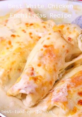 Best White Chicken Enchiladas Recipe