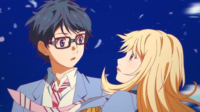 Anime Yang Popularitasnya Meledak Di Tahun 2015 Ini Sangat Kental Dengan Nuansa Drama Musikal