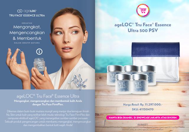Promo Nu Skin Tru Face Essence Ultra September 2020