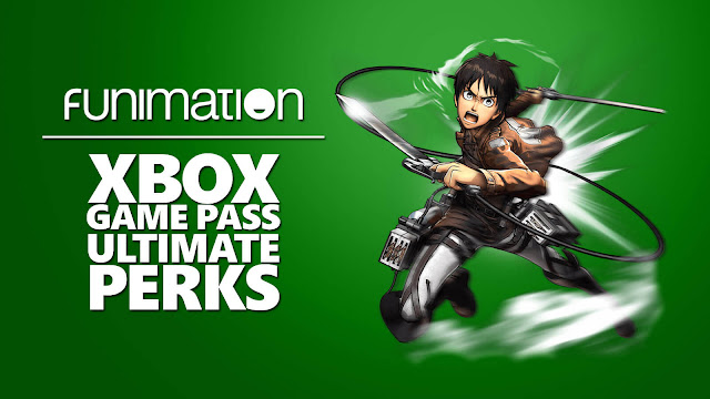 xbox game pass ultimate funimation premium plus subscribers free 2 months attack on titan eren yeager