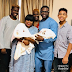See pix:1st photo Funke Akindele, her hubby and their twin boys