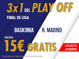 suertia promocion acb final Baskonia vs Real Madrid 19 junio
