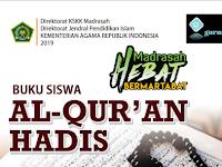 Download [Unduh] Buku Quran Hadis MTs Terbaru KMA 183