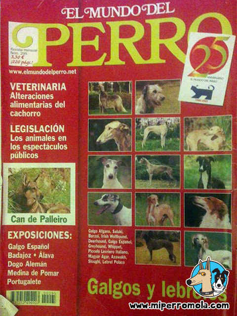 Can de Palleiro en la revista El Mundo del Perro