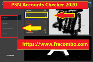 PSN Account Checker | Reg/Site BruteForce Checker HQ