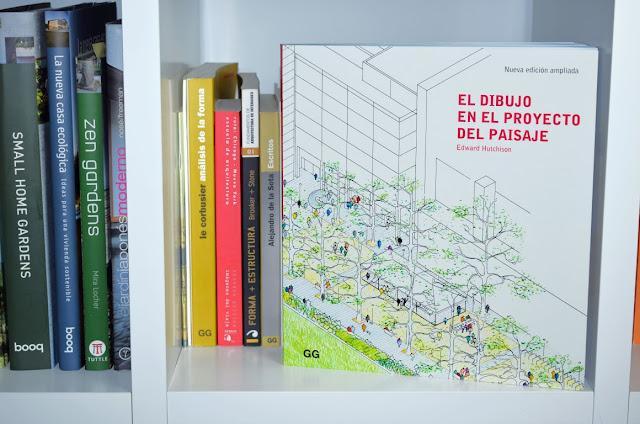 libros de paisajismo, libros de arquitectura, libros recomendados, libros de dibujo a mano