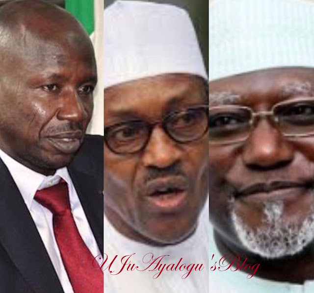 MONUMENTAL FRAUD Under Buhari's Watch; How Daura, His Kinsman DSS DG Also Got $12.9m From #DasukiGate; TOP SECRET Why EFCC, DSS At Dagger Down