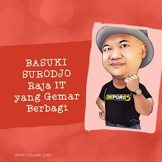 basuki surodjo raja it ayooentertainment bagi bagi giveaway