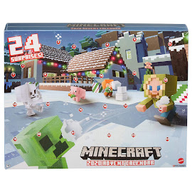 Minecraft Skeleton Advent Calendar Figure