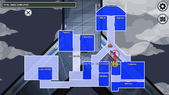 Storage(保管庫)のタスクマップ説明画像