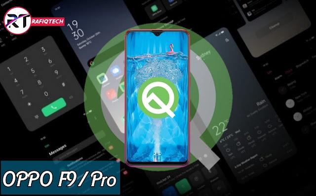 تحديث ColorOS 7 لـهاتف Oppo F9 و F9 Pro [أندرويد 10]
