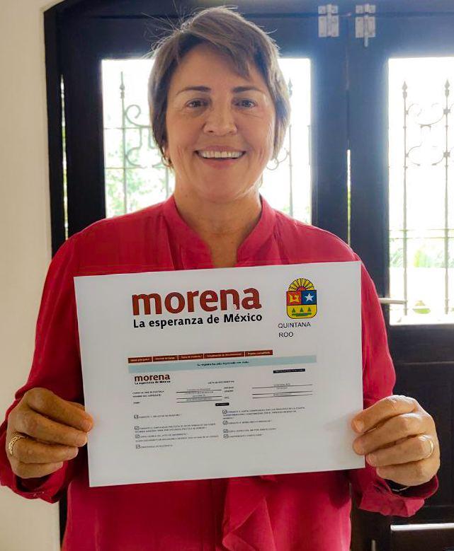 Laura Beristain - Registo MORENA