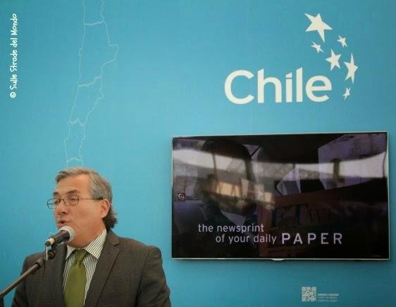 L'Ambasciatore del Cile apre la mostra