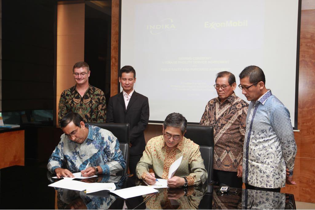Indika Energy Dan Exxonmobil Kerja Sama Layanan Fasilitas Penyimpanan Og Indonesia