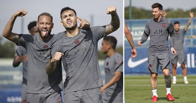 PSG show off 3rd kit: See Picture and Videos