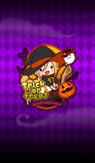 Witch's Halloween Theme