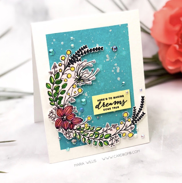 #mariawillis, #cardbomb, #card, #cardmaking, #cardmaker, #cards, #handmade, #pinkfreshstudios, #stamp, #ink, #paper, #papercraft, #art, #diy, #color, #happybirthday, #heartandsoul, #diecut, #diecutting,