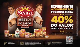 Promoção Mestre do Sabor Seara