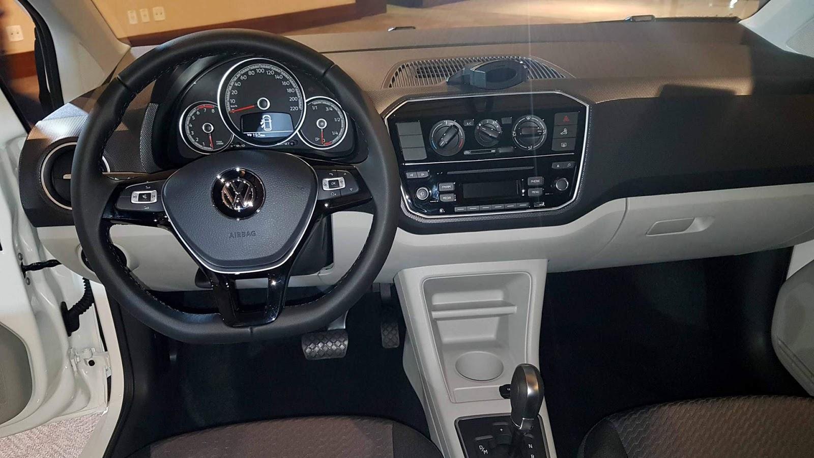 Novo vw up 2018 autom tico v deo pre o consumo car for B b interno 8