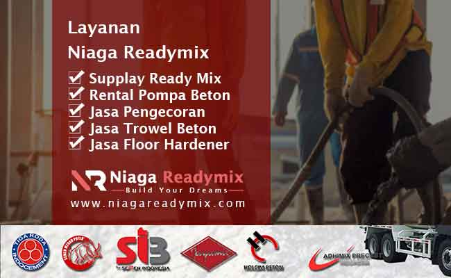 Layanan Terdekat Niaga Readymix