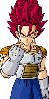 Vegetto Armor SSJ GOD