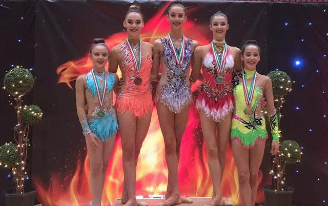Laura Halford Welsh Rhythmic Gymnastics Championships