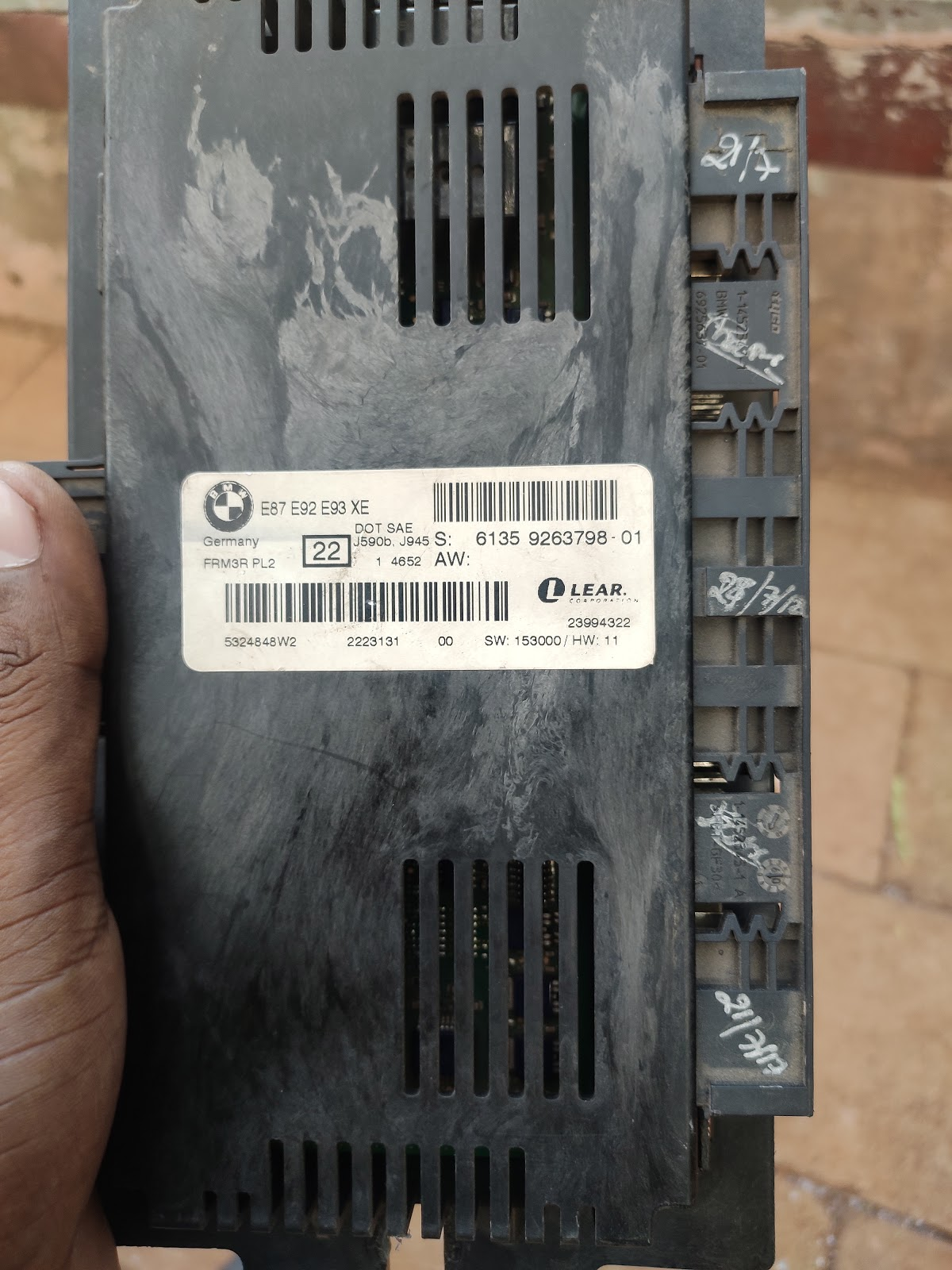 Bmw Frm Footwell Module Problems And Details