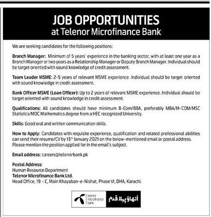 Telenor Banka - Telenor - Min Side Telenor - теленор - Telenord - Online Apply - careers@telenorbank.pk