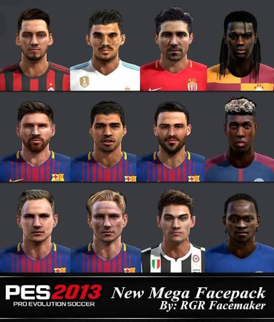 Mega Facepack PES 2013